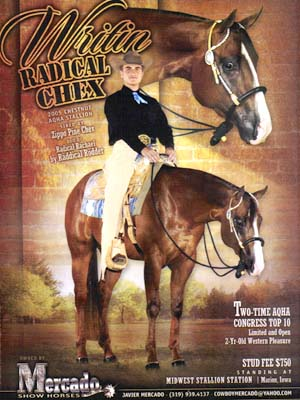 Javier Mercado & Writin Radical Chex
