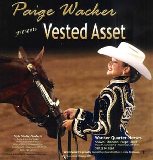 Paige Wacker and Vested Asset