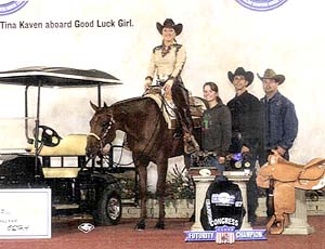 Tina Kaven & Good Luck Girl