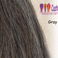 Gray Mix Tail Extensions