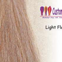 Light Flaxen Tail Extensions