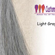 Light Gray Tail Extensions
