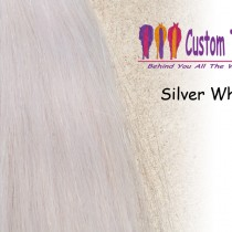 Silver White Tail Extensions