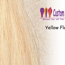 Yellow Flaxen A Tail Extensions